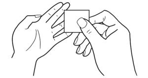 step2指先の洗浄