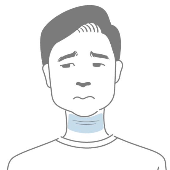 「首のしわ」のお悩み