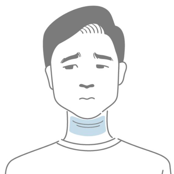 「首のたるみ」のお悩み